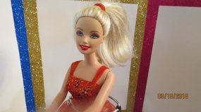2005 Barbie BALLET STAR Doll Red & Gold Ballerina Tutu in Perry, Georgia