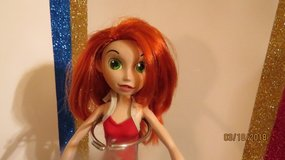 Disney Kim Possible Doll Rooted Red Hair Original Cargo Pants Halter Top in Macon, Georgia
