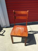 wood school room style chair needs work in Sacramento, California