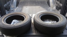 2 Gently used Firestone FR710 P215/70R15 97S M+S in Shorewood, Illinois