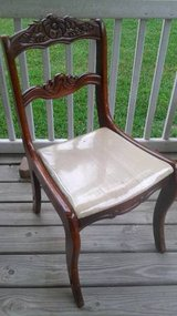 Antique Tell City Solid Wood Mahogany Chair 4561 in The Woodlands, Texas