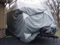 Travel Trailer Cover or Toy Hauler Cover, Fits 20' - 22' RVs in St. Charles, Illinois
