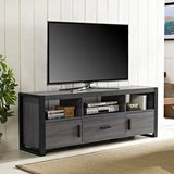 Walker Edison Low Profile TV Stand (Black) - NEW! in Plainfield, Illinois