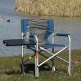Ozark Trail Folding Camp Lawn Chair (Blue) - NEW! in Naperville, Illinois