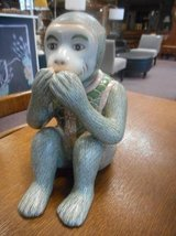 Adorable Monkey Statue in Batavia, Illinois