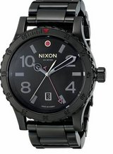 Nixon Diplomat Black Dial Stainless Steel Band Quartz Mens Watch A277- in New Lenox, Illinois