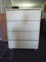 Chest of Drawers*4 drawers*Great Cond*Metal Slide in Fort Leonard Wood, Missouri
