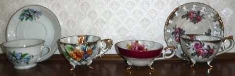 Antique Bone China coffee/tea cup & Saucer Set in Joliet, Illinois