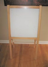 IKEA Activity Easel - White & Black Boards - Drawing Paper in Oswego, Illinois
