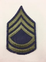 Army E-7 Sergeant FIrst Class subdued patch sew on in Fort Belvoir, Virginia