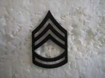 Pair (2) US Army subdued collar rank insignia Sergeant First Class E-7 in Fairfax, Virginia