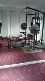 ProSystem Bodysmith By Parabody System; Barbell & Plates in Joliet, Illinois