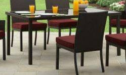Rush Valley Patio Table (All Weather Wicker) - NEW! in Chicago, Illinois