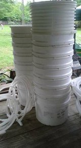 Plastic Tubs / Drums with Sealing Lids - 20 gallon in The Woodlands, Texas