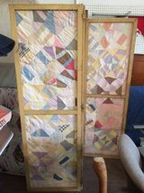 Vintage quilt room divider in Perry, Georgia