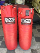 Ringside Leather Punching Bag with Chains in Montezuma, Georgia