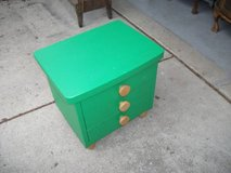 GREEN ALL WOOD CABINET in Tinley Park, Illinois