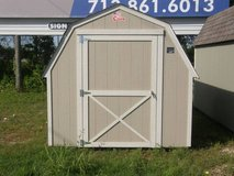 8x12 Barn Storage Shed in Huntsville, Texas