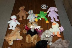 Lot of 13 Ty Animals and Two Precious Moments Tender Tails in Kingwood, Texas
