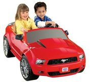 Power Wheels 12V Battery Toy Ride-On - Ford Mustang - Red in Spring, Texas