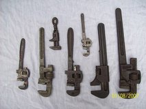 Antique Pipe and Monkey  Wrenches in Joliet, Illinois