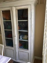 Antique Hardwood China Cabinet in Oceanside, California