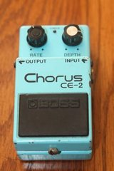 BOSS CE-2 Chorus Vintage Guitar Effects Pedal made in Japan MIJ in Houston, Texas