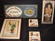 Kitchen French Wall Plaques in San Diego, California