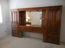 Headboard with piers and mirror in San Diego, California