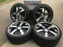 20 inch Vossen VVS084 Wheels / Rims staggered set in Belleville, Illinois