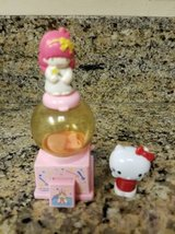 Vintage Sanrio Mini gumball machine and Hello Kitty pencil topper in Temecula, California