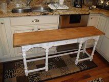 DREXEL FURNITURE ALL WOOD FOYER TABLE in Tinley Park, Illinois