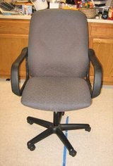 HON Fabric Desk Chair with Arms - Adjustable Height in Plainfield, Illinois