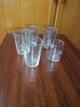 4 Etched Crystal Drinking glasses in Travis AFB, California