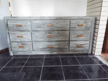 Dresser*Distressed*9 Drawers*Vintage*Excellent Condition in Fort Leonard Wood, Missouri