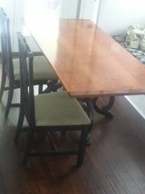 Unique Lowcountry Custom made Cherry Dining Table in Beaufort, South Carolina