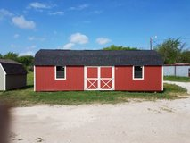 Pre-owned 12x32 Lofted Barn Building in Huntsville, Texas
