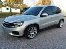 2012 VW Tiguan S 5-Passenger SUV, Turbo 4 Cyl Automatic Leather 72k Mi in Cherry Point, North Carolina