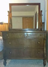 ANTIQUE DRESSER WITH MIRROR in Naperville, Illinois
