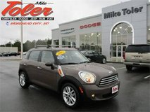 2012 Mini Cooper Countryman-One Owner-Clearance Priced!(Stk#15020a) in Camp Lejeune, North Carolina
