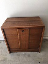 Solid Wood MidCentury Modern Small Dresser in Travis AFB, California