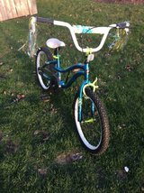 "Next girls 20"" blue/ green bike in Bolingbrook, Illinois"