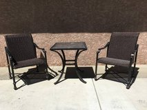 Nice 3-Piece Bistro Patio Set (2 Available) in Vacaville, California