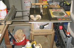 """VINTAGE SEARS CRAFTSMAN 8"""" BENCH / TABLE SAW - 103.21041 in Oswego, Illinois"""