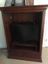 Wood TV Cabinet in Fort Benning, Georgia