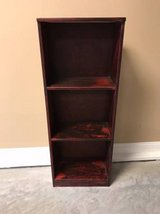 Stained Wood bookshelf in Fort Campbell, Kentucky