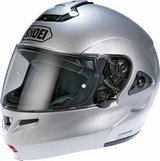 New - Shoei Multitec Light Silver Motorcycle Helmet in Beaufort, South Carolina