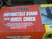 Motorcycle Stand w/ Wheel Chock in Camp Lejeune, North Carolina