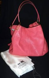 Coach Phoebe Pebble Leather Large Shoulder Purse / Handbag Bag in Lockport, Illinois