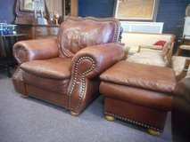 Good looking chair and ottoman in Naperville, Illinois